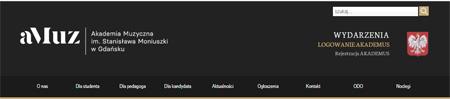 nagłówek www aMuz w Gdańsku