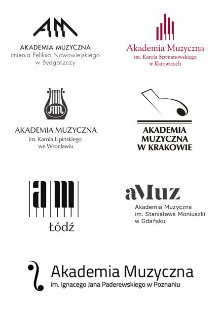 znaki Akademii Muzycznych