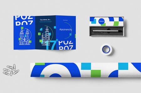 projekt koncepcyjny identyfikacji Poznania, autor Mateusz Urbańczyk