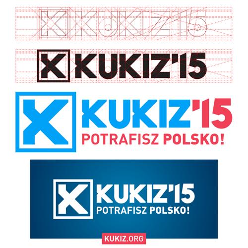 logo Kukiz'15, aut. Miłosz Lodowski