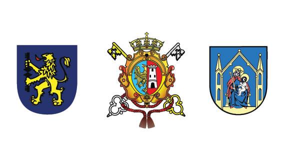 herby Gorlic, Wadowic i Iławy
