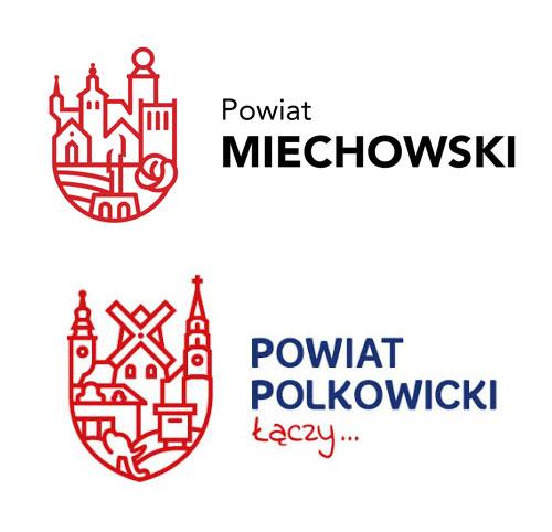 powiaty Miechowski i Polkowicki
