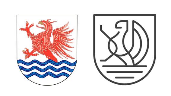 Słupsk herb i logo