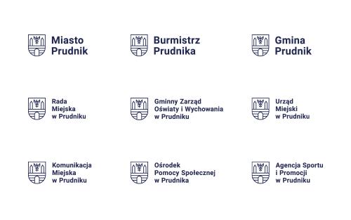 nowe logo Prudnika - logotypy