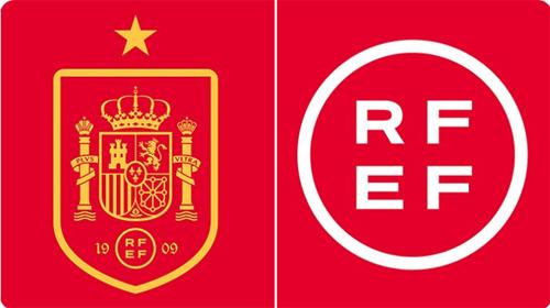 stare i nowe logo RFEF