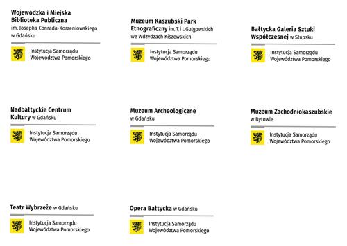 wersje logotypowe nazwy instytucji