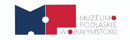 pełny znak Muzeum Podlaskiego z logotypem