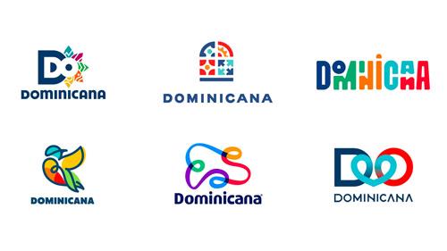 Dominikana wybiera logo