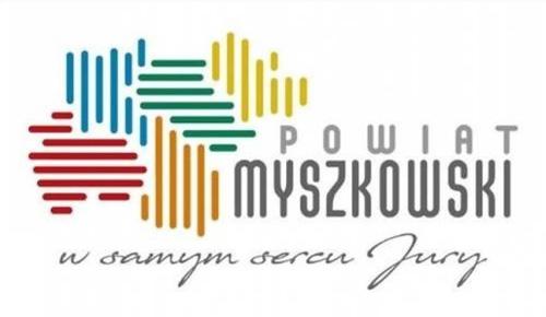 logo powiatu Myszkowskiego