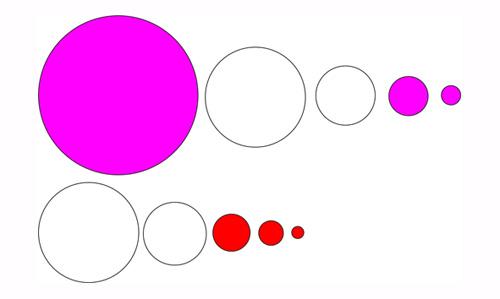 wykreślanie - zestawy okręgów