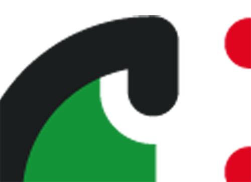 Żarów nowe logo, fragment